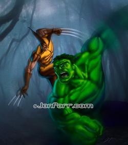 Hulk & Wolverine