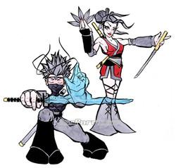 Ninja Girl & Boy