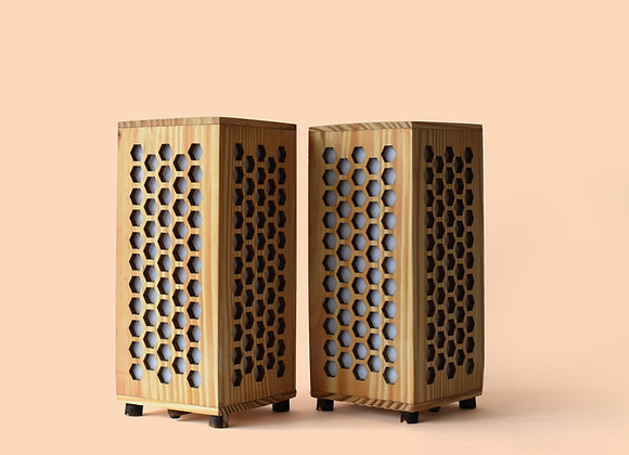 Honey Comb Design  (Set of 2)