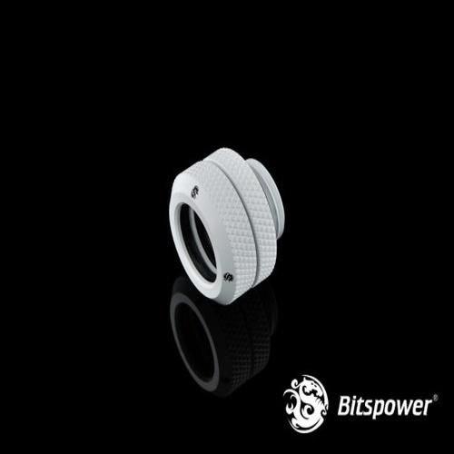Bitspower G1/4″ Deluxe White Enhance Multi-Link For OD 12MM (BP-DWEML)