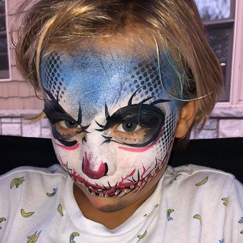 Send In The Clowns with Hair Color and Face Paint! $175