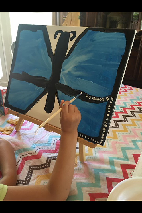 BFF or Mom/Child or Dad/Child Symmetry Painting