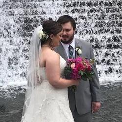 This gorgeous bride #bridal #btbytai #onsite #hair #makeup #wedding#chicago