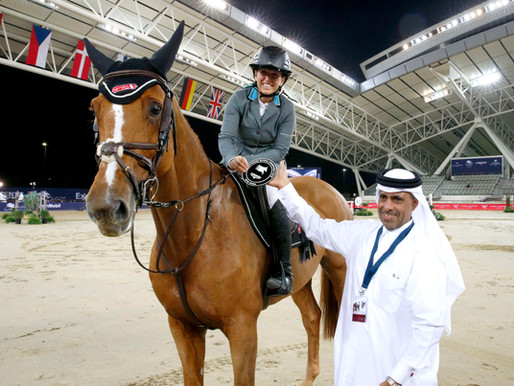 2nd place @ GCT 1st day in Doha