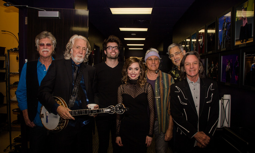 Opening for the Grammy award winning Nitty Gritty Dirt Band at the Sound Board in Detroit, MI.