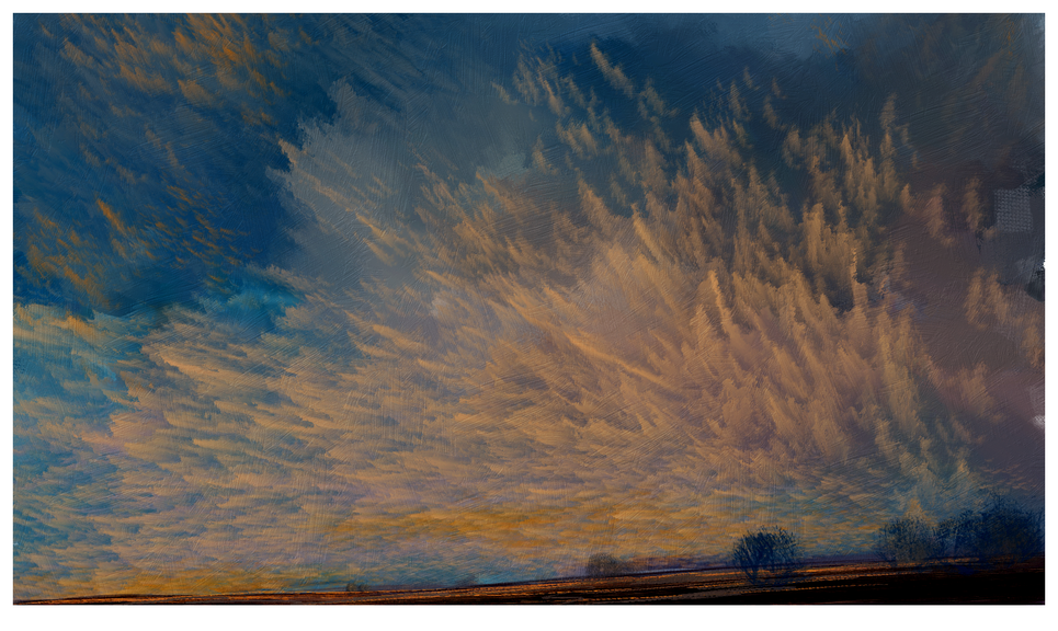 CONSTABLE SUNSET