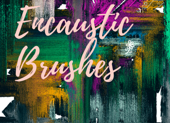 Encaustic Brush Pack for Painter 2018 or 2019