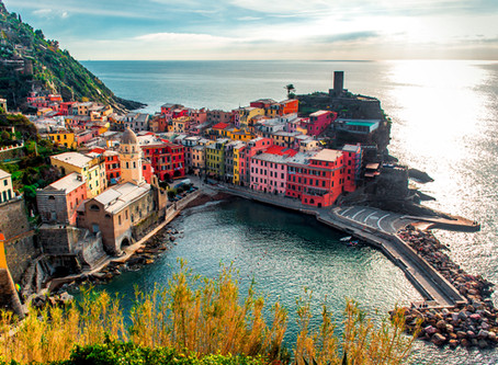Cinque Terre - the unspoiled jewel of the Tuscan Coast