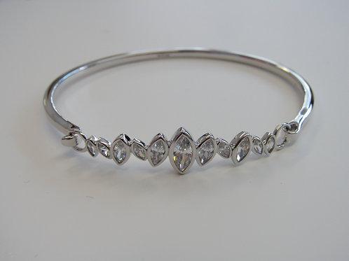Sterling Silver Fiorelli Bangle