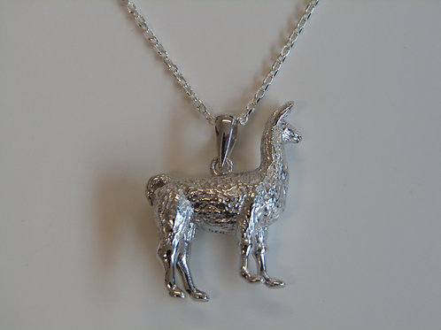 Sterling silver Llama