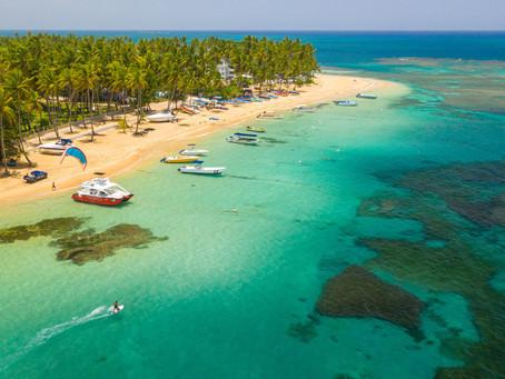 Panenské pláže Karibiku Dominikánská republika