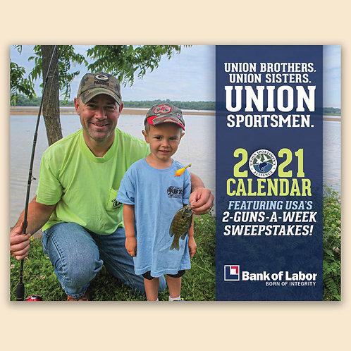 2021 USA Union Sportsmen Gun Calendar
