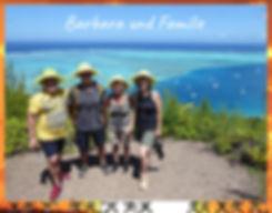 Private Huahine view walk testimonial