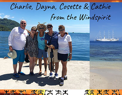 private Huahine cruise ship testimonial