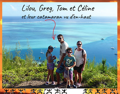 Huahine-private catamaran family charter sailboat round-the-world