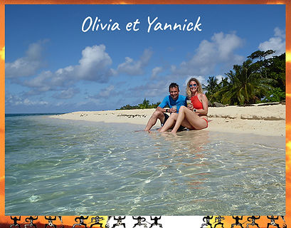 private Huahine honeymoon beach testimonial