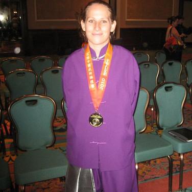 Taryn Gold medal
