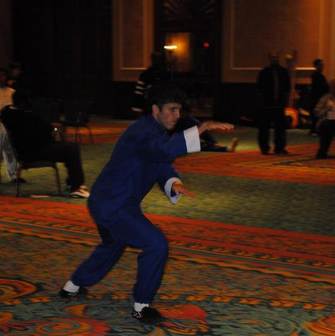 Master Cheyne Competing in Snake style 2