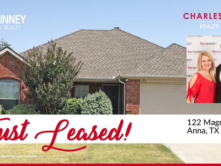 Leased in Anna, TX