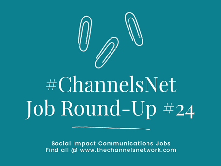 #ChannelsNet Jobs Round-up #24