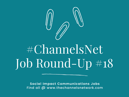 #ChannelsNet Jobs Round-Up 18