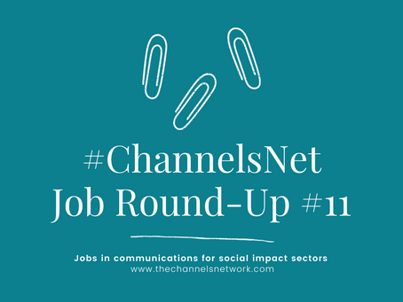 #ChannelsNet Jobs Round-up #11