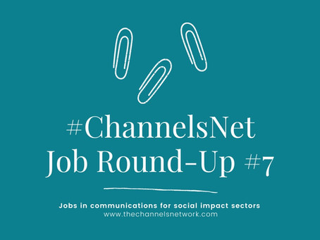 #ChannelsNet Jobs Round-Up #7