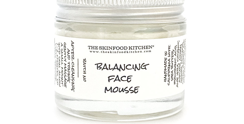 balancing face mousse