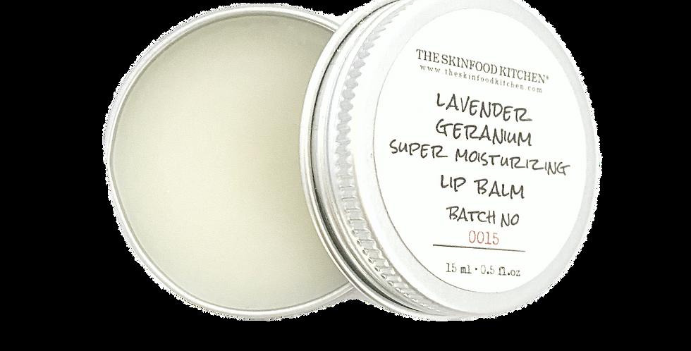 super moisturizing lavender geranium lip balm