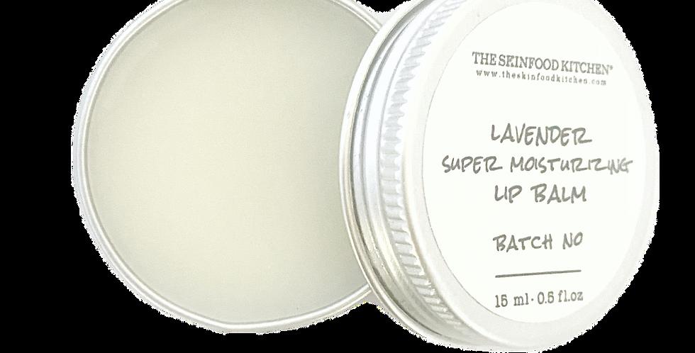 super moisturizing lavender lip balm