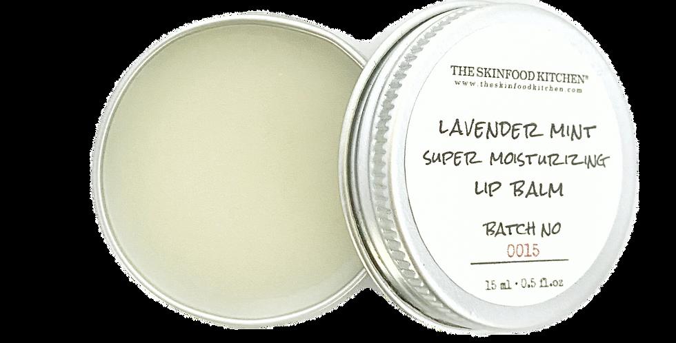 super moisturizing lavender mint lip balm