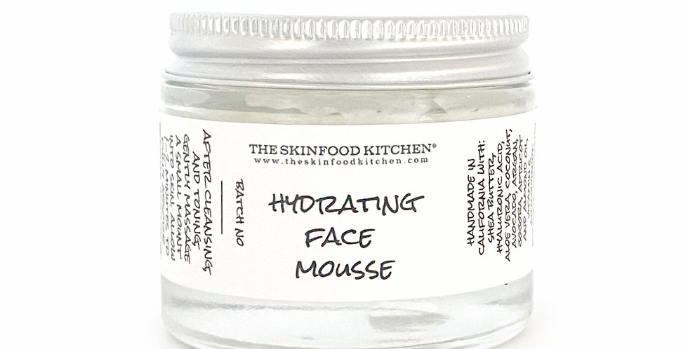 hydrating face mousse