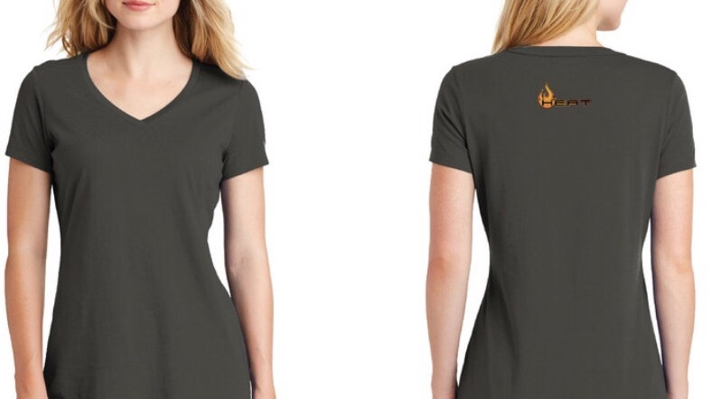 New Era® Ladies Heritage Blend V-Neck Tee