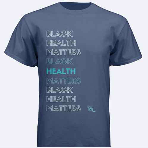 Navy Minority Health Matters Unisex T-Shirt