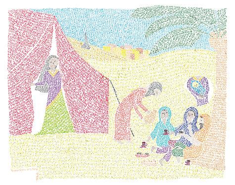 Parashat Vayera: Print