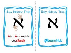 Silly Hebrew Tricks Flashcards