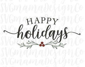 Happy Holidays! (Holiday Schedule)