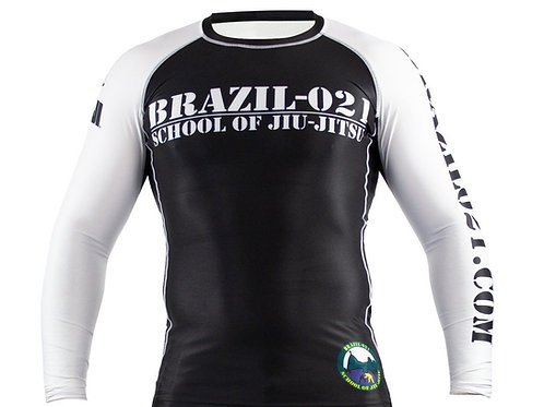 Adult Brazil-021 Official Rash Guard