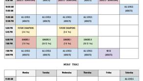 Schedule Change Reminder