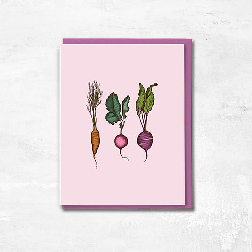 We're Rooting For You Greeting Card