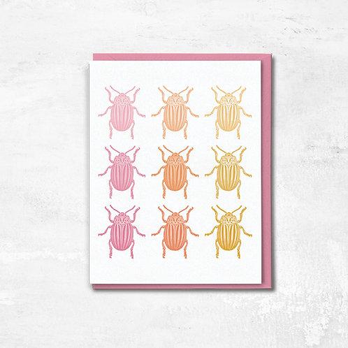 Beetle Boop Greeting Card