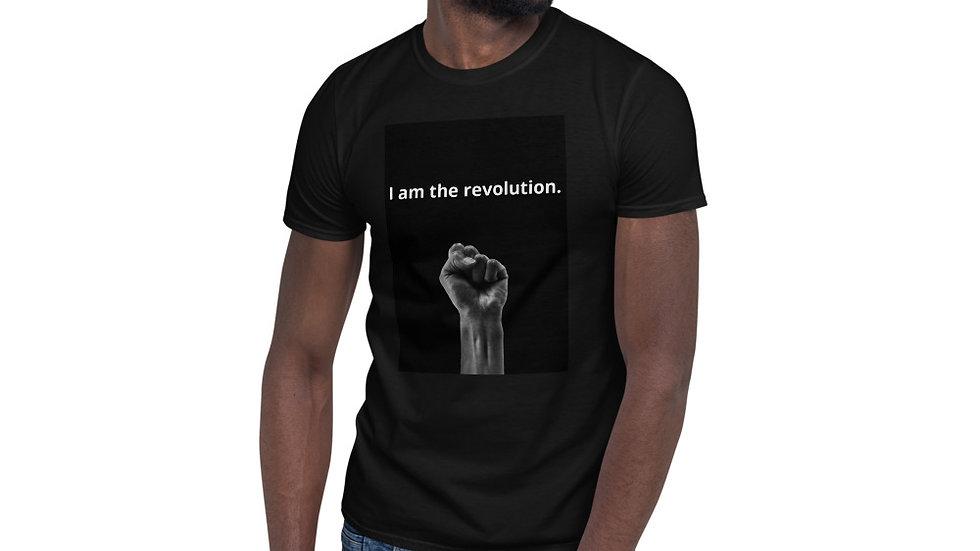 "Short-Sleeve ""I am the revolution"" Unisex T-Shirt"