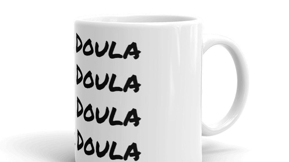 Black Doula Mug