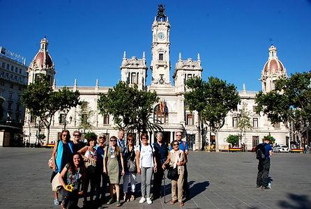 Tour de la ville de Valence