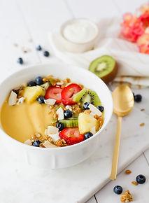 Mango-Smoothiebowl
