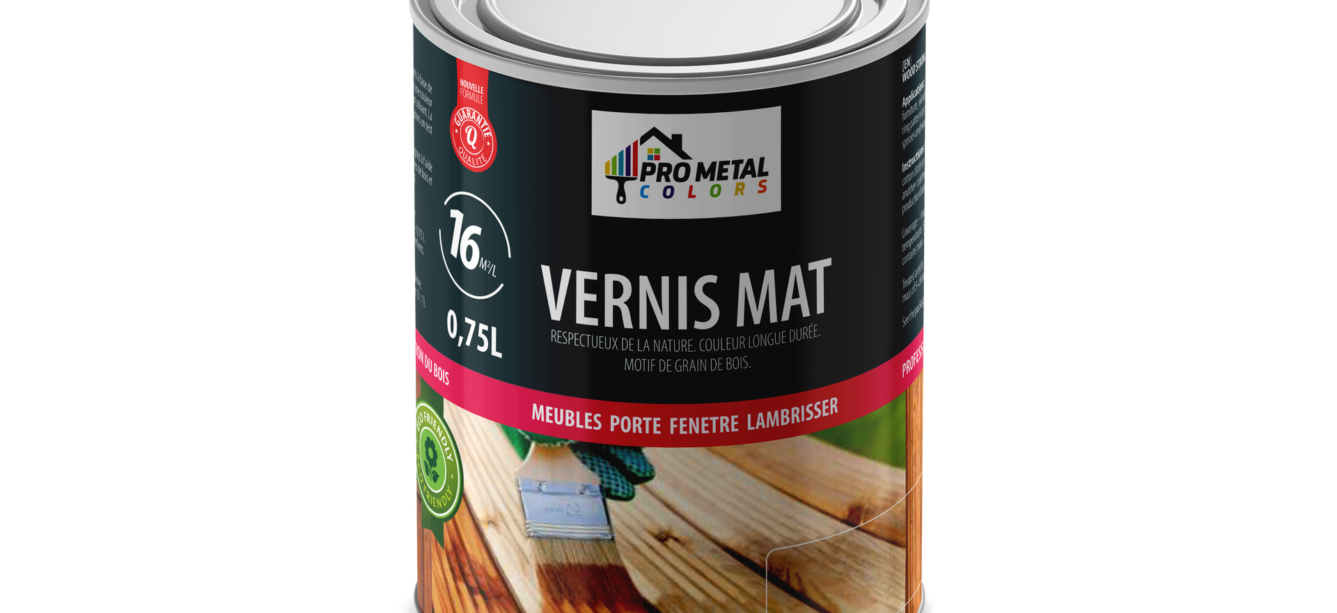 Vernis Mat 0.75 Litre 5€