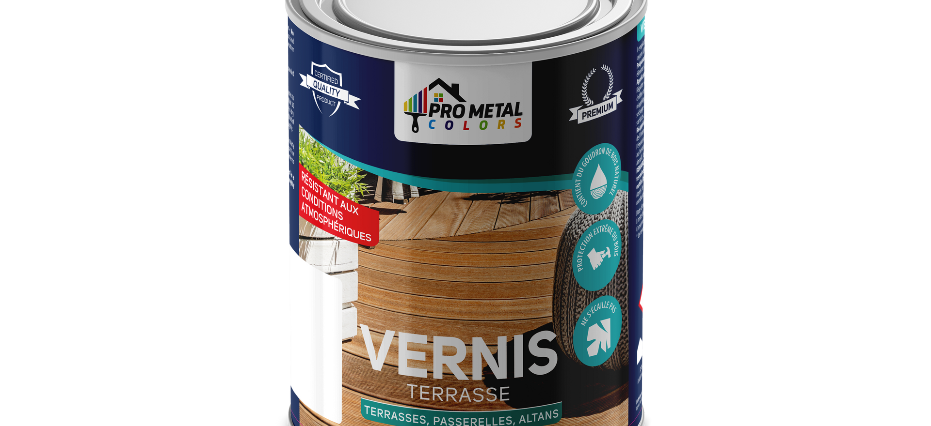 Vernis Terrasse 2.50 Litre 30€