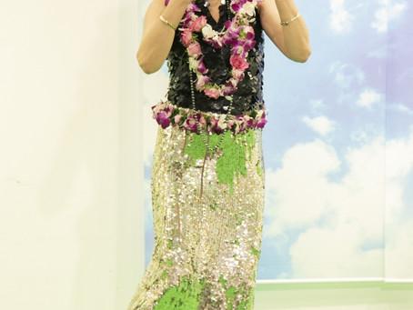 4月14日西宮阪急のハワイアンイベントへ参加させていただきました。