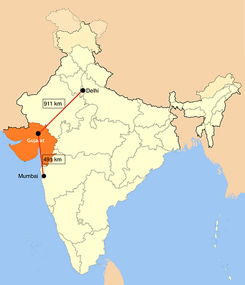 DMIC为古吉拉特邦的工业增长提供动力,因为38%的走廊位于该州。