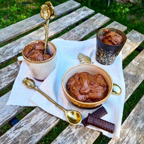 Mousse au chocolat légère & onctueuse !